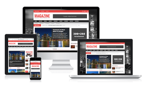 Premium Magazine WordPress Themes for Bloggers | MH Themes