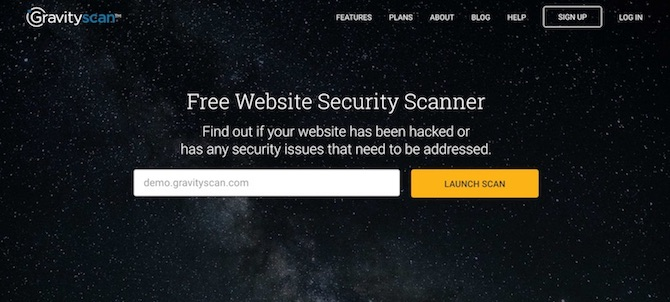 Gravityscan Security Scanner
