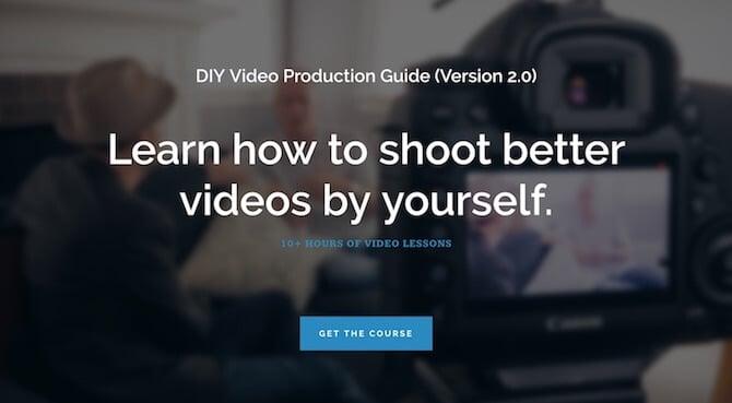 DIY Video Guy Sales Page
