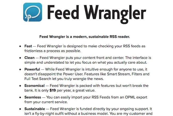 Feed Wrangler