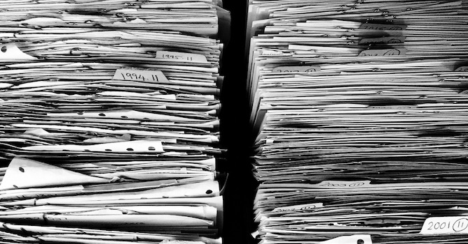 Paper contracts are waste