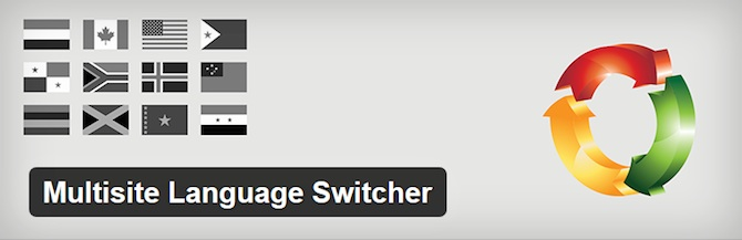 Multisite Language Switcher