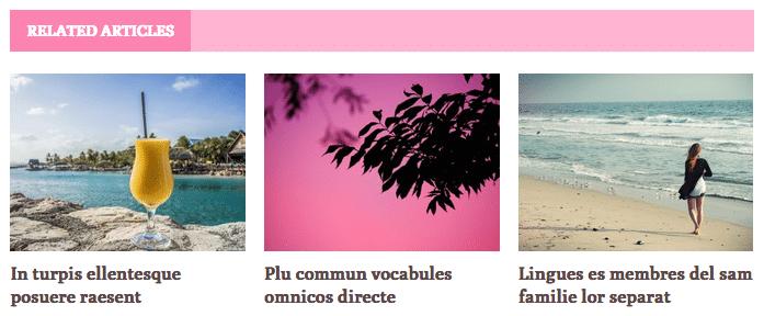 Related Articles Feminine Blog