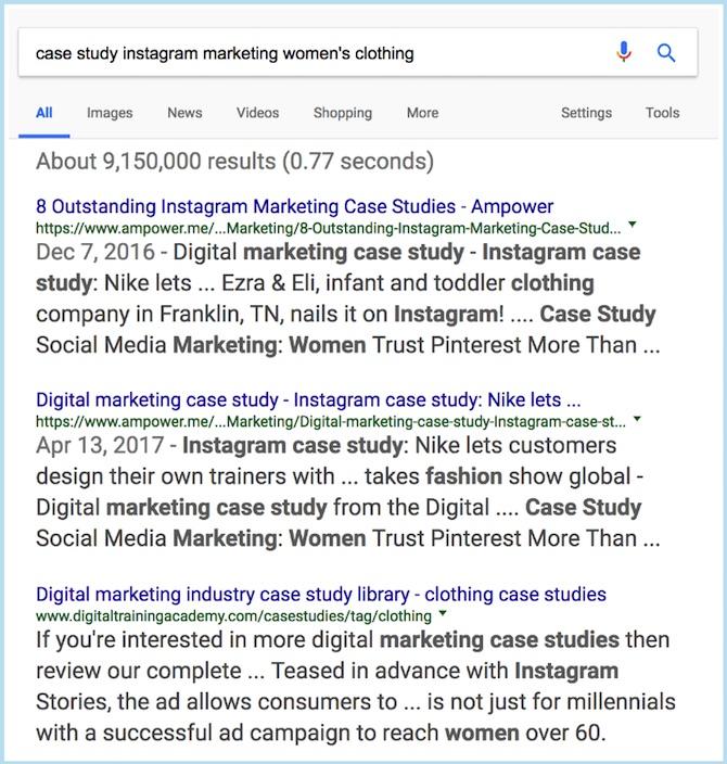 Google Case Studies