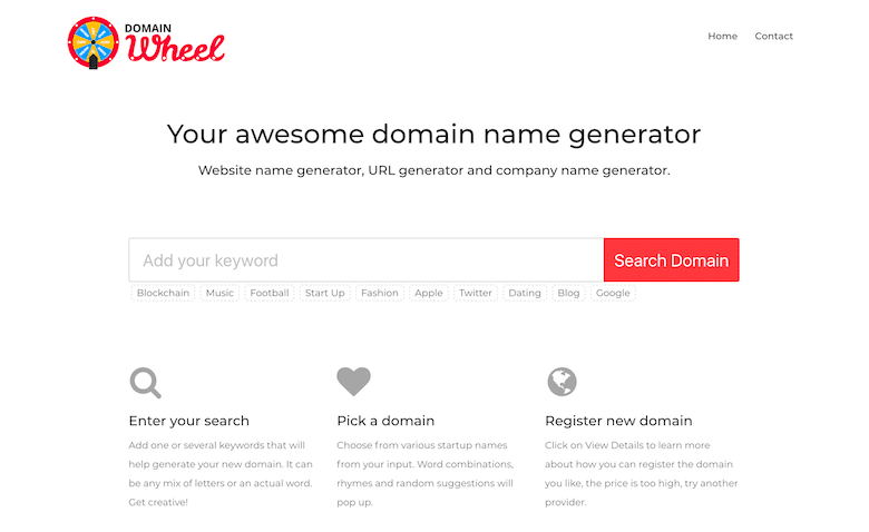 how to find blog name