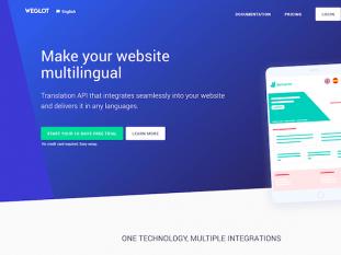 Weglot Homepage